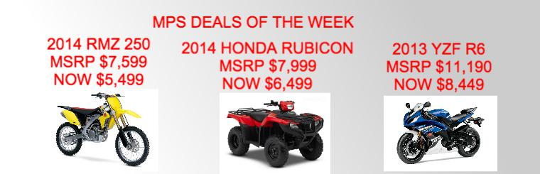 MPS Deal of the Week 12/15/14